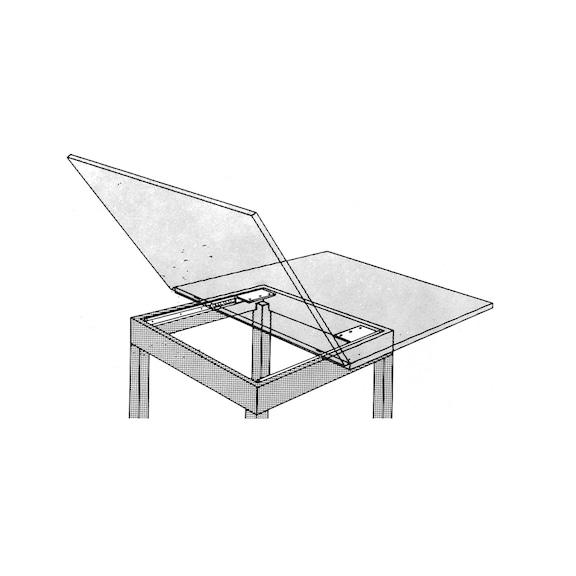 Guida p. cassetto per tavolo con apertura laterale | Würth