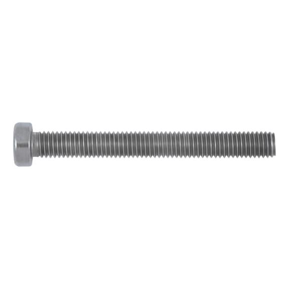 Zylinderschrauben DIN 7984 Edelstahl V2A M4  niedrig Innensechskant