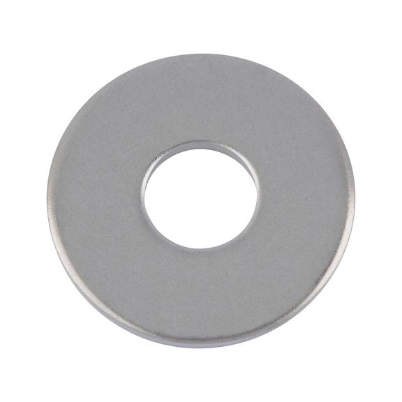 100 Edelstahl Unterlegscheibe K-Scheibe 5,3 DIN 9021 M5
