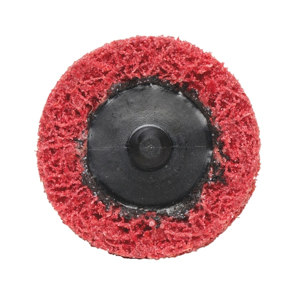 Longlife minischuurvliesschijf van grof nylon - SCH.SCHIJF-NYLON-ROOD-D50MM