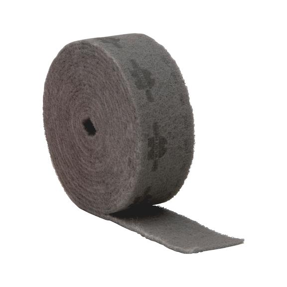 Lã abrasiva de nylon, viatura - ROLO LIXA DE VELO 115MMX10M G.S1200