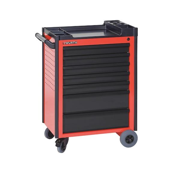 Werkplaatstrolley Compact - C7  KUNSTSTOFFEN TOP RAL 3020