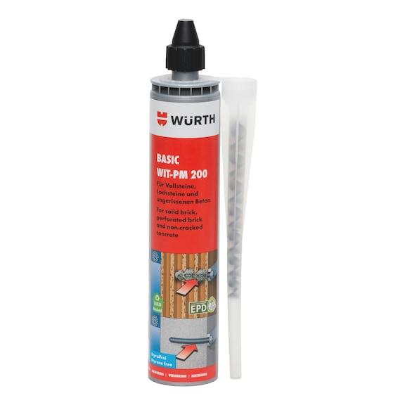 Kemisk basisforankringsmørtel WIT-PM 200 - ANC-MORT-(WIT-PM200)-CART-300ML