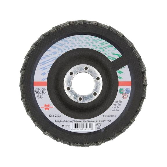 Fleece Segmented Grinding Disc - VERYFINE 115X22,23