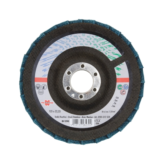 Fleece Segmented Grinding Disc - FINE 115X22,23