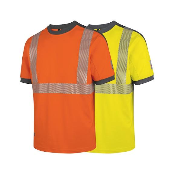 Signalisatie T-shirt, neon, klasse 2 - 1