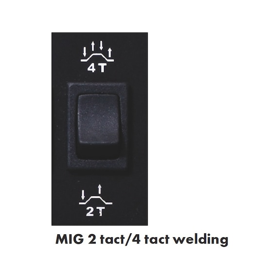 Welding inverter MIG/STICK/LIF-TIG MIG 180-5 - WELDSYS-MIG/MAG/STICK/LIFT/TIG-(180-5)