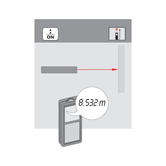 Lazer metre WDM 3-12 - LAZER METRE (WDM3-12) - 80M