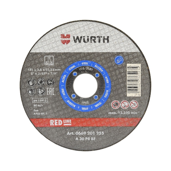 Cutting disc for steel - BLUE BR16,0 D100MM