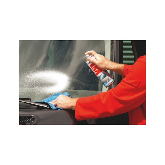 Pulitore attivo per vetri - PULITORE ATTIVO PER CRISTALLI  500ML