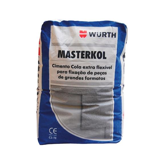Cimento cola MASTERKOL - MASTERKOL CIMENTO COLA EXTRAFLEXIVEL