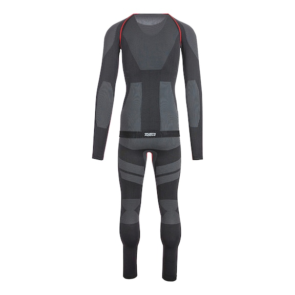 Thermo Unterwäsche Set Basic - UNTERWAESCHE SET BASIC CARBON S/M