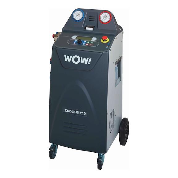 Machine de climatisation mono-gaz HFO1234yf Coolius Y10 - LOT MACH. CLIM Y10 + ADAPTATEUR 1234YF