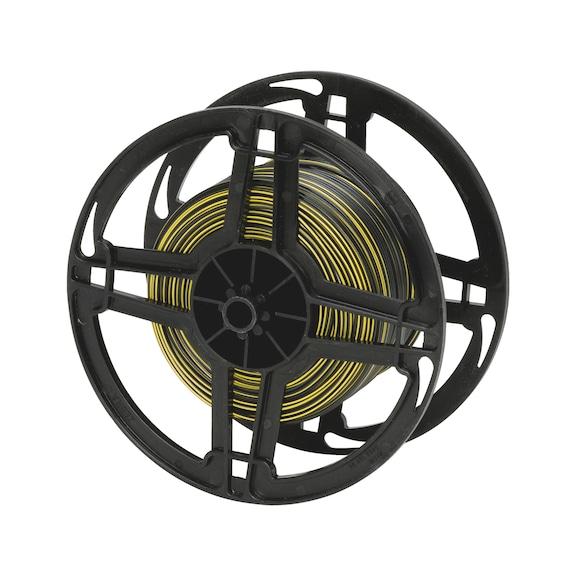 Vehicle line - (BLACK/YELLOW) 0,75SMM