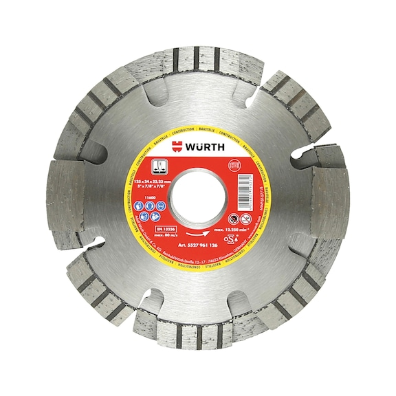 Buy Diamond cutting disc combi f  wall slitting cutter