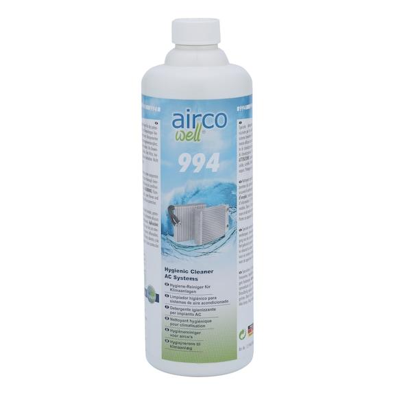エアコンエバポレータークリーナー 994 AIRCO WELL - 994 AIRCO WELL エアコンエバポレータークリーナー 1000ML