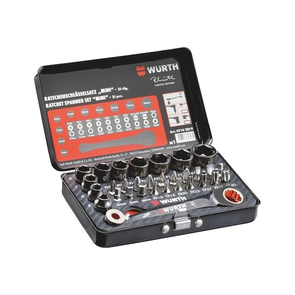 Ratschenschlüssel Set Mini Limited Edition - 1