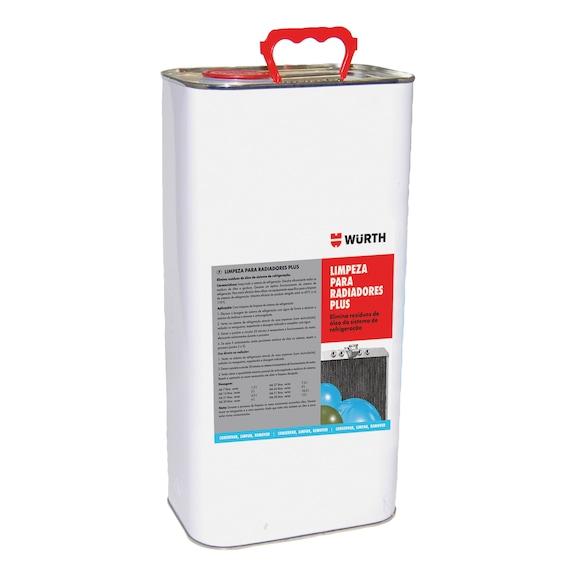 Limpeza para radiadores Plus - LIMPEZA PARA RADIADORES PLUS 5L