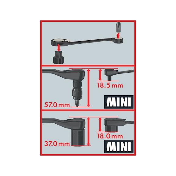 Ratschenschlüssel Set Mini Limited Edition - 2