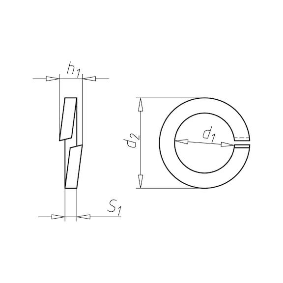 Veerring - VEERRING-DIN7980-(MZN)-D12,2