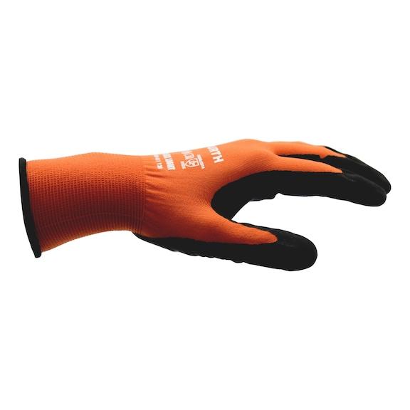 Beskyttelseshandske, nitril, Tigerflex Light - 1