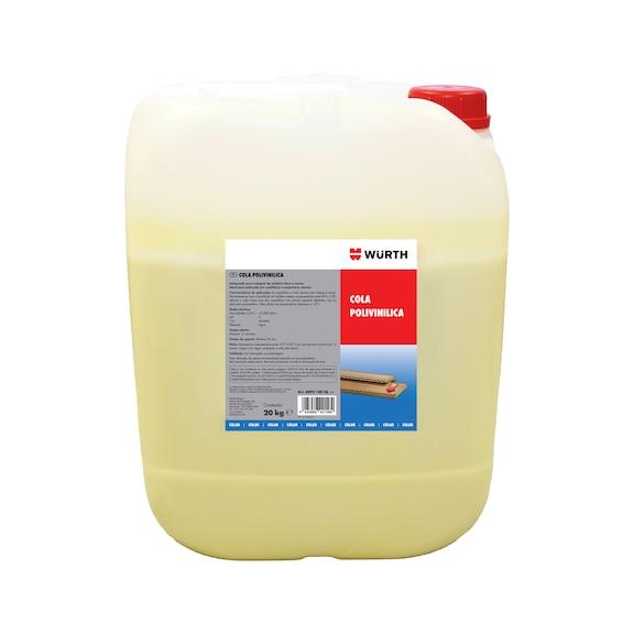 Cola polivinílica - COLA POLIVINILICA 20 KG
