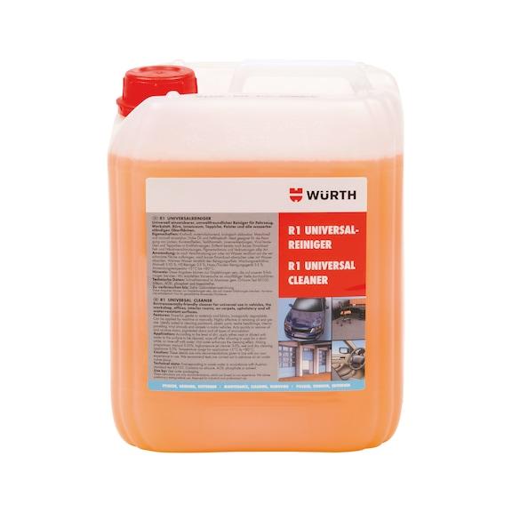 Üniversal temizleyici R1 - R1 ÜNİVERSAL TEMİZLEYİCİ 5LT