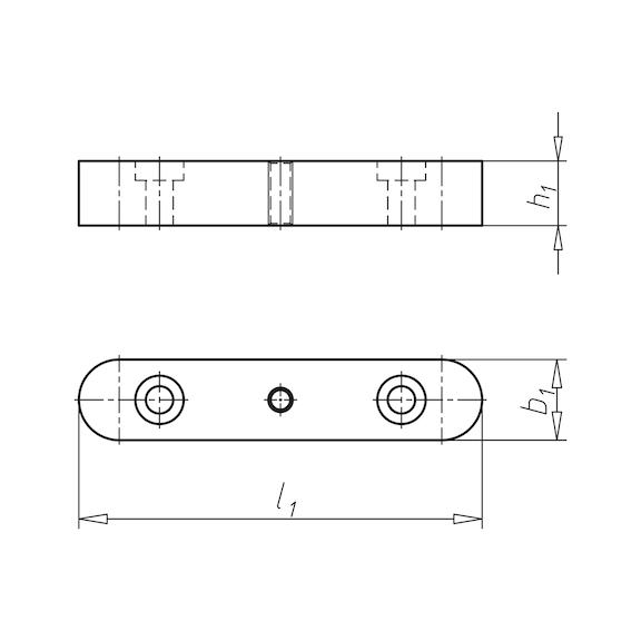 DIN 6885 Passfeder hohe Form A 6 x 6 x 25 Stahl blank