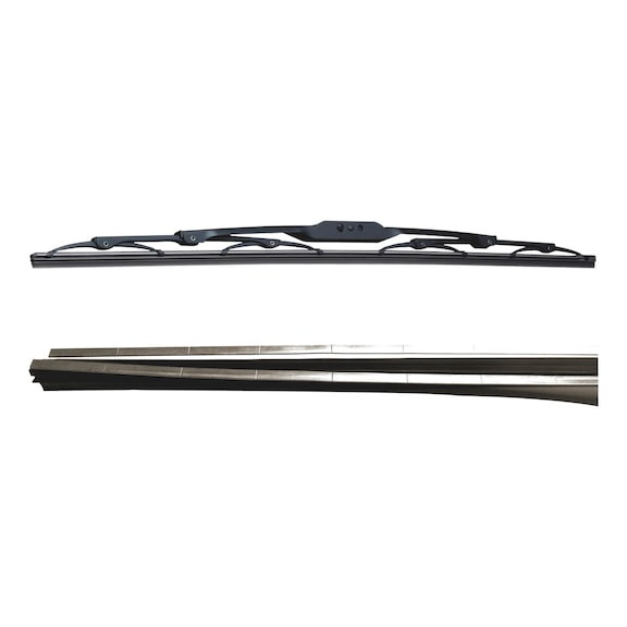 Refill- replacement rubber blades - 6MM L600MM