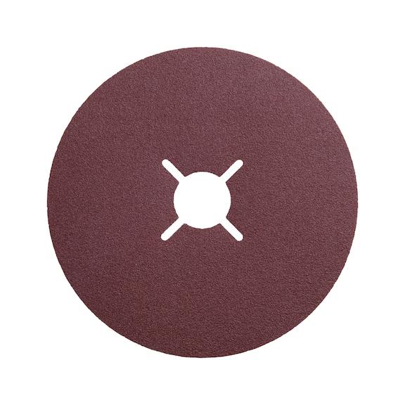 Synthetic corundum vulcanised fibre disc - G24 180X22MM