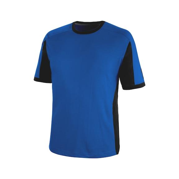 Cetus T-Shirt Royalblau/Schwarz CHF