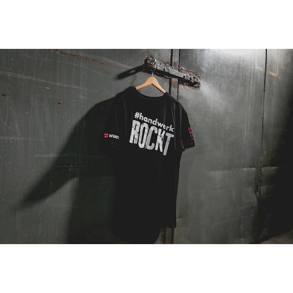 T-Shirt #Handwerkrockt