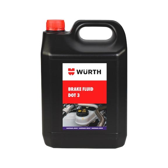 Brake fluid - DOT3 5LTR