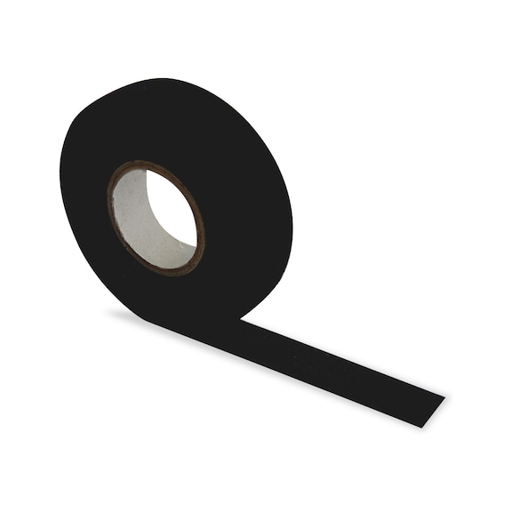 Bez Bant - Tüylü 19mmX15m Siyah