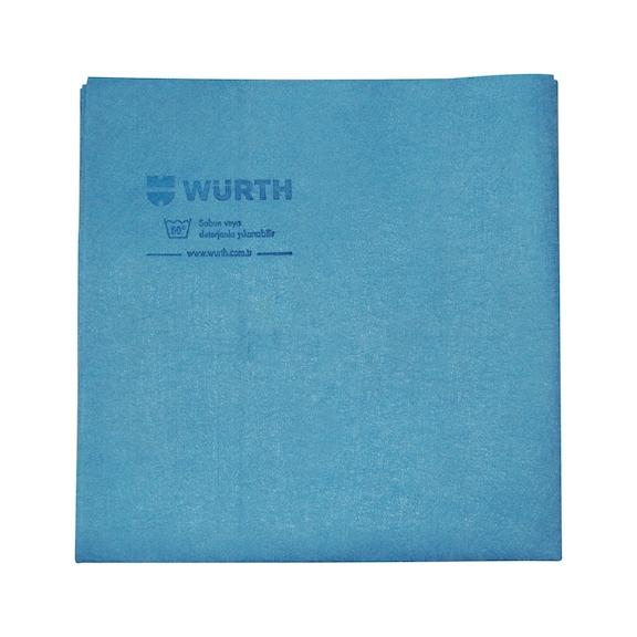 Sentetik deri bez - SENTETİK GÜDERİ BEZ-40X40CM-MAVİ-170GR