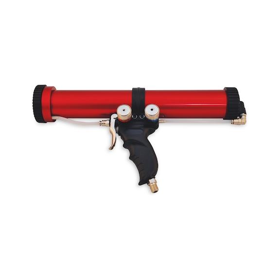 Teleskopik pistonlu havalı kartuş tabancası PS5 - HAVALI ORJINAL İZOLE MACUN TABANCASI