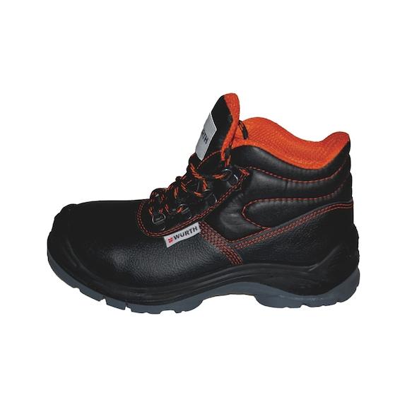 S3 İş Güvenliği Ayakkabısı Boğazlı Siyah