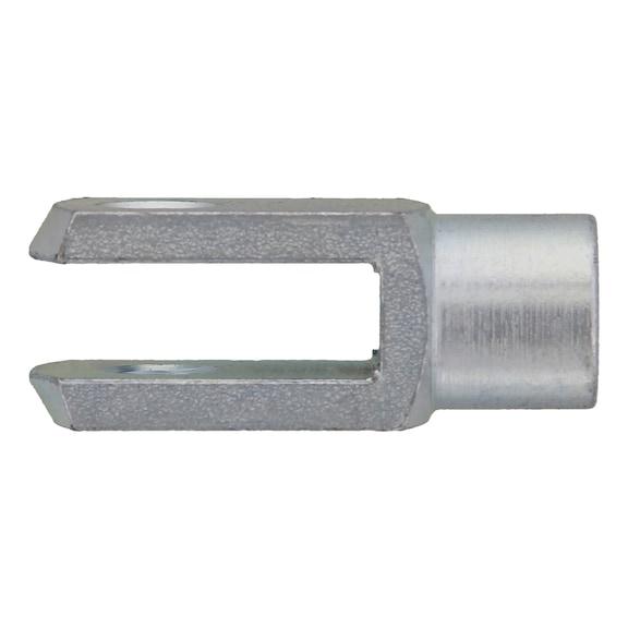 Вильчатая головка без шплинта - ГОЛОВКА-ВИЛЬЧАТАЯ-DIN71752-A2K-10X40