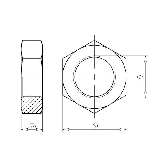 Häufig ISO 4035 Stahl 04 verzinkt online kaufen | WÜRTH EC23