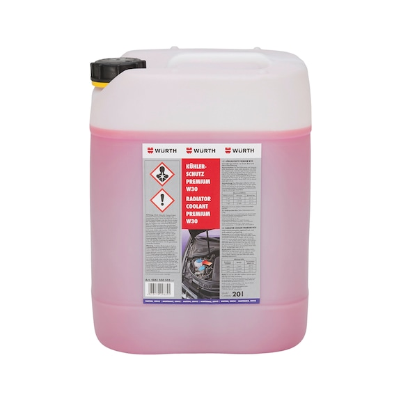 Kühlerfrostschutz Premium - KUEHLFRSHTZ-PREMIUM-W30-20LTR