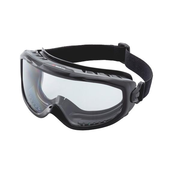 Safety goggles Castor - BLACK
