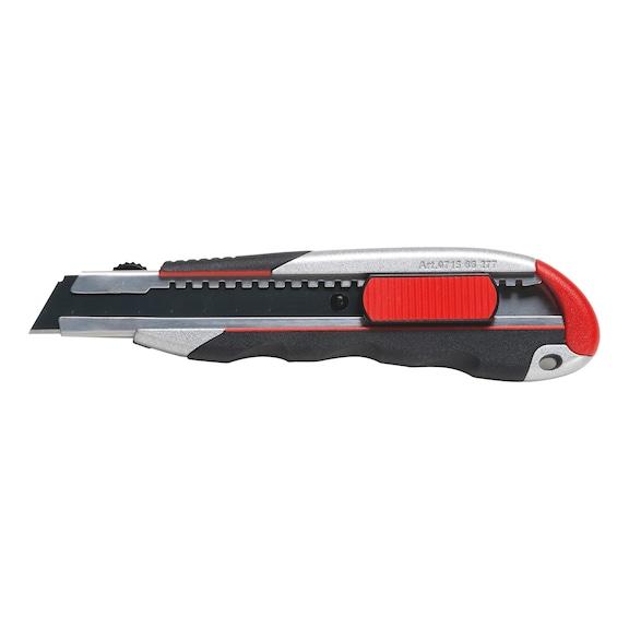 Cutter manche trimatière avec curseur - CUTTER TRIMAT POUR LAME 18MM+1LAME