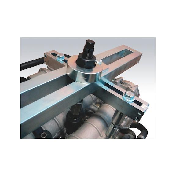 Kit de remoção de injetores universal, 38 peças - KIT COMPLETO SACA INJETORES