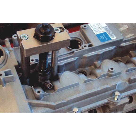 Conj. extrator injetores para Mercedes e Chrysler - SACA INJECTORES MERCEDES 2.1 2.2 3.0 V6