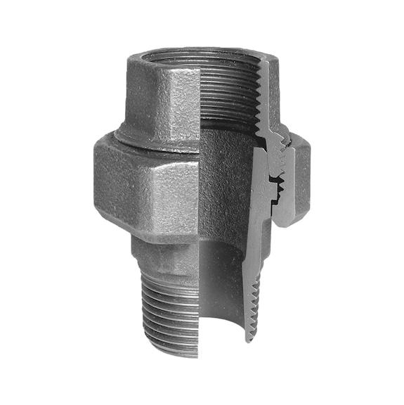 Buy EN10242 U12 hot-dip galvanised malleable cast iron online