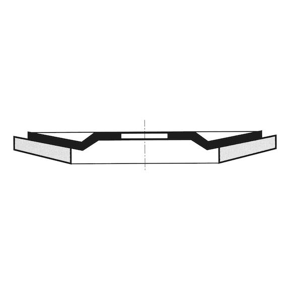 Segmented Grinding Disc For Stainless Steel - FLPDISC-0579430314-BIGPACK
