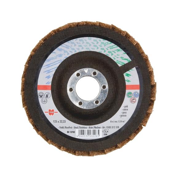 Fleece Segmented Grinding Disc - COARSE 115X22,23