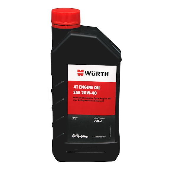 Engine Oil 20W-40 Jaso MAII Four Stroke Mofor Cycle Engine Oil - 1