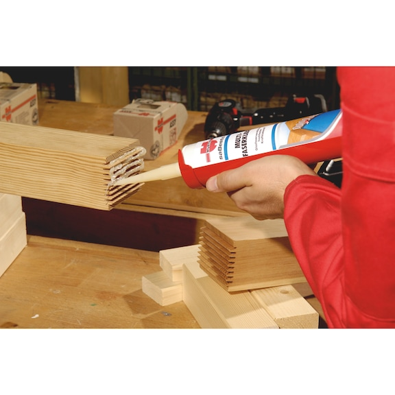 Cola para construção Cola multifibras - COLA PU MULTIFIBRAS