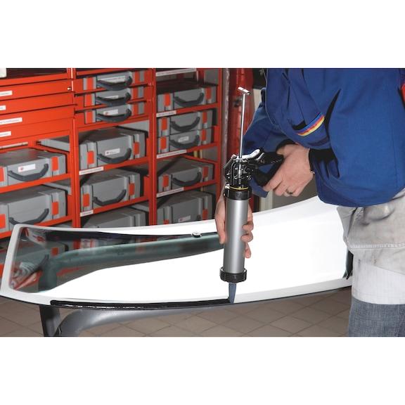 Cola para para-brisas Conjunto completo Classic Plus, cartucho - KIT COLA PARA-BRISAS CLASSIC PLUS 310ML